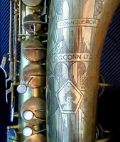 RARE Conn 30M Connqueror (deluxe & improved 10M) Naked Lady pro tenor saxophone