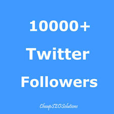 10K-HQ Twitter-Follower- Fast, Safe, No Eggs, Ultra Quality, Extra Delivery!