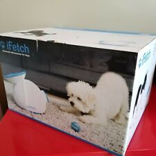 iFetch Interactive Ball Launcher for Dogs Launches Mini Tennis Balls, Small, New