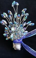 Wedding BOUTONNIERE for Groom Groomsmen CORSAGE PROM Quinceañera,Gift,Party