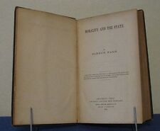 MORALITY AND THE STATE by SIMEON NASH  FOLLET, FOSTER & CO  COLUMBUS OHIO 1859