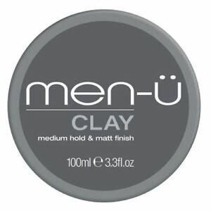 Men-U Clay Styling Cream 100ml provides long lasting Matt Choppy Texture