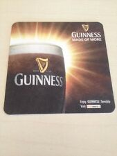 8 x GUINNESS IRISH DUBLIN BEER COASTER MATS NEVER USED