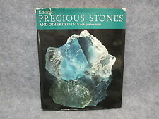 Precious Stones & Other Crystals 89 Color Plates Hardcover Book Metz 1964