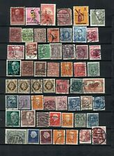WORLDWIDE EUROPE  COLLECTION POSTAL USED PERFINS STAMP  LOT (WW 207 )