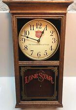 Lone Star Beer American Heirloom Wood Wall Clock The National Beer of Texas Read