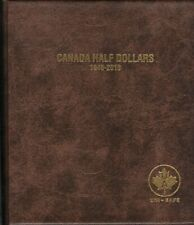 Unisafe Coin Folder Album #146 Canada 50 Cents Half Dollars   1937-1983