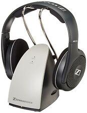 Sennheiser RS120 On-Ear Wireless RF Headphones w/ Charging Dock, Earphones, NEW