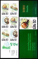 Asian Bush Snail, Marine Life, 1997 Booklet  (A18)
