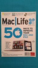 "MAC  LIFE  MAGAZINE          ""APRIL  2012 -  NO. 63""       50 WAYS TO IMPROVE..."