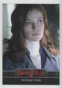 2012 Cryptozoic Smallville Seasons 7-10 The Deadly Years #72 1w4
