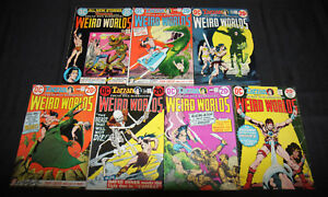 WIERD WORLDS 1-7 SET/LOT 7PC