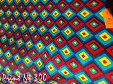 Indian 10 Yard Cotton Fabric Hand Block Print Handmade Cotton Running Natural +A