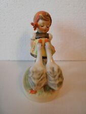 """New ListingHummel Goebel Figurine Goose Girl #47 3/0 W Germany 4"""""""