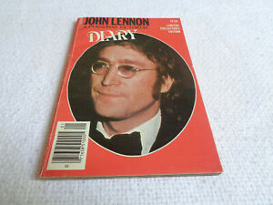 John Lennon A Personal Pictorial Diary - Sportomatic Special Editions - 1980s