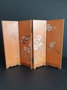 Vintage Chinese Oriental Miniature Room Divider Ornament