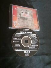 AC/DC HIGH VOLTAGE CD ACDC RARE BLACK ALBERT PRODUCTIONS AUSTRALIA 465250 2
