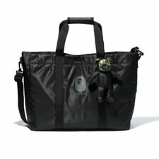 2019 A BATHING APE BAPE Monkey Head Shoulder Bag Travel Tote Bags Handbag