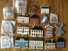 Lot Of Cats Meow Village Christmas Ornaments Limited Edition  Store House +