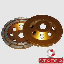 "Stadea Diamond Concrete Cup Grinding Wheel 5"" For Concrete Stone Grinding Polish"