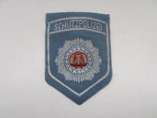 DDR protección policial Police Patch Patch insignia para uniforme-camisa eccuson (B