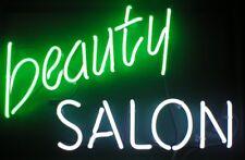 "New Beauty Salon Hair Open Lamp Beer Light Neon Sign 17""x14"""
