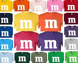 M & M M T-Shirt Halloween costume group M and M M&M T shirt m&m mm youth & adult