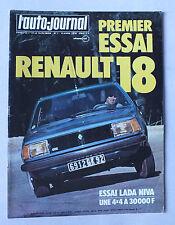 L AUTO JOURNAL - BIMENSUEL N° 7 - 15 AVRIL 1978 *