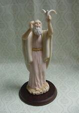 "1996 Home Interiors Masterpiece NOAH 9"" Porcelain Figurine w/Stand"