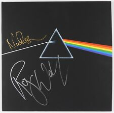 Pink Floyd Roger Waters Nick Mason Dark Side Signed Autograph Album JSA Vinyl FA