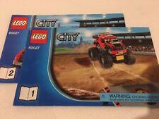 LEGO 60027 - Instructions Only - Lego City Monster Truck Transporter