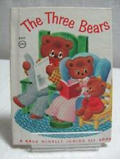 Vintage Rand McNally Children's Books The Three Bears c1962