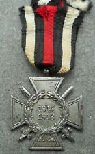 ALLEMAGNE - WWI: CROIX DE GUERRE HINDENBURG 1914/1918 - VARIANTE