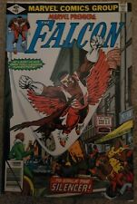 MARVEL PREMIERE #49 1st FALCON Solo Story Frank Miller Cover 1979 1st SILENCER