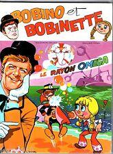 BOBINO ET BOBINETTE - LE RAYON OMEGA - EO 1974 MCL opera mundi