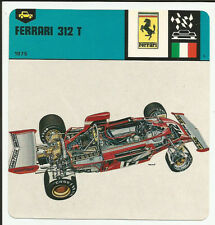 1978 Edito-Service Auto Rally Ferrari 312 T Card