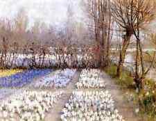 Hitchcock George Spring Crosuc Fields A4 Print