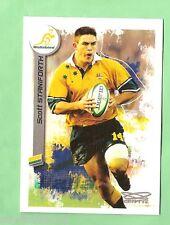 2003  RUGBY UNION CARD  #102 SCOTT STANIFORTH, AUSTRALIAN WALLABIES