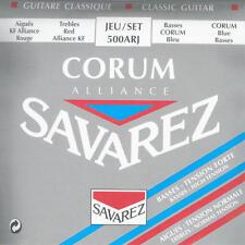Savarez 500ARJ Corum Alliance Normal Silver Plate Classical Guitar Nylon Strings