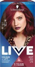 Schwarzkopf LIVE Colour + Lift L75 Deep Red Permanent Hair Dye x 1