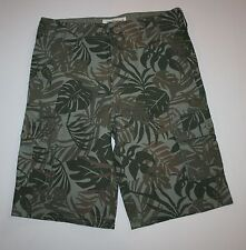 New Carter's Tropical Palm Tree Cargo Shorts Size 10 Year NWT Adjustable Waist