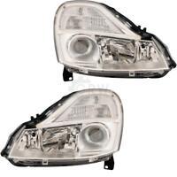 Scheinwerfer Set für Renault Modus Bj. 08->> Facelift  H1+H1+H1 D81