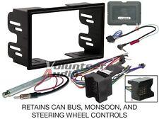 Vw Double Din Car Radio Stereo Installation Dash Kit Harness Antenna