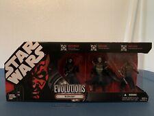 Star Wars Evolutions: The Sith Legacy: Darth Nihilus, Darth Bane, Darth Maul NIB