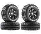 Duratrax DTXC5270 Bandito SC Mounted Tires Black 17mm (4) Arrma Senton 6S