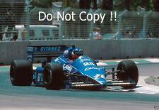 Philippe Streiff Ligier JS25 Australian Grand Prix 1985 Photograph 1
