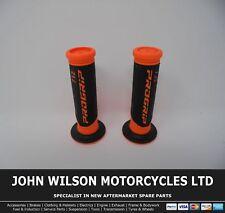 Honda VFR400R VFR400 RVF400 NS400R Stylish Orange Handlebar Soft Grips