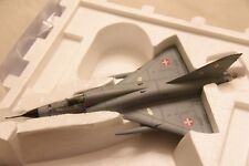 franklin mint 1 48 Aircraft Mirage 111 Swiss Air Force B11E369 New Model
