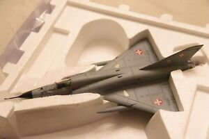 Franklin Mint 1/48 Aircraft Mirage 111 Swiss Air Force B11E369 New Model