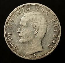 Kgr. Bayern, 5 Mark 1901 D